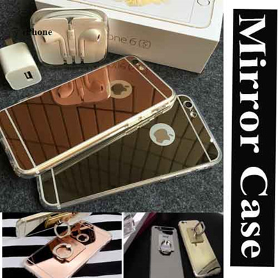 check out b0a26 fb28f 24hourx Mirror Jelly Case ★Galaxy S6 Edge S4 S5 S3 Note 2 3 4 Edge Apple -  iPhone 5 / 5S iPhone 6 / iPhone 6 Plus / LG G4 G3 Smart Phone Casing