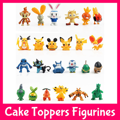 Pokemon Cake Toppers Singapore