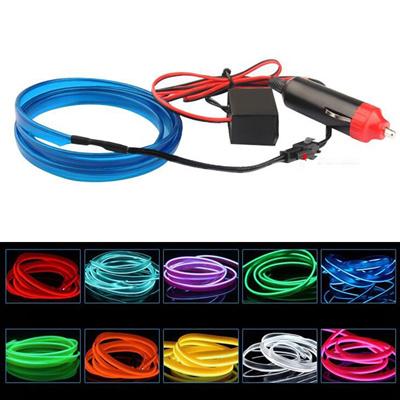 Qoo10 - 2m el-wire flexible led neon strip cold light strip rope ...