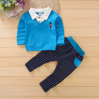 52bba51d3 Qoo10 - 2PC Baby Boy Outfit Clothing Suits Kids Boys Formal Wedding Party  Suit... : Baby & Maternity