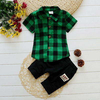 3cba18029d4b Qoo10 - 2PC Summer Toddler Boys Clothes Outfit Baby Child Boy Clothing  Outfits...   Kids Fashion