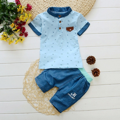 eb9443ac35ef 2PC Toddler Boys Clothes Summer Baby Child Kids Boy Clothing Outfits Shirt  + Pants