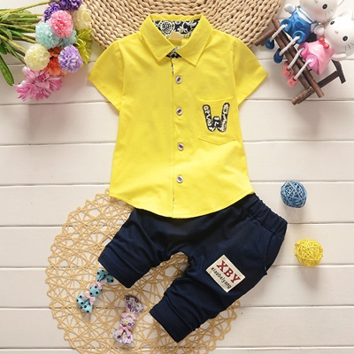 608f34dc9389 Qoo10 - 2PC Toddler Boys Summer Cartoon Clothes Outfit Baby Child Kids Boy  Clo...   Baby   Maternity