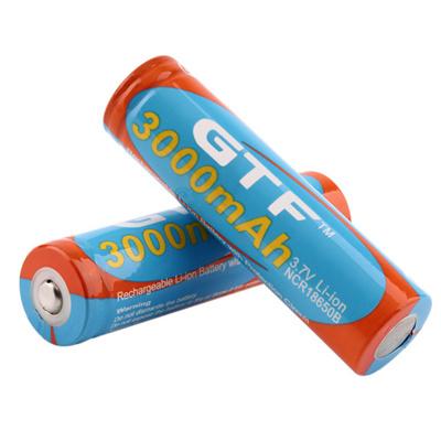 2pcs 18650 9800mAh Li-ion Rechargeable Battery Original GTF 18650 3 7V  Lithium Tip Head Batteries Ba