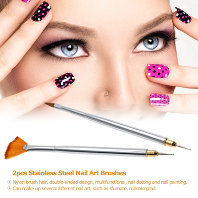 How To Make A Fan Brush For Nail Art Best Nail 2018