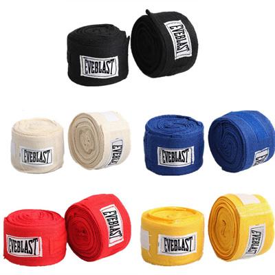 Boxing Gloves Strap Sanda Muay Thai Bandage 2.5m Lenght Sports Style Printing
