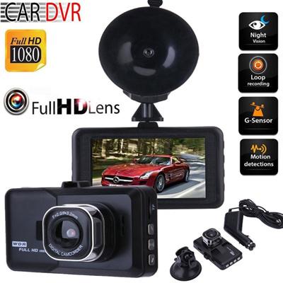 Qoo10 3 0 Inch Car Dvr Camera 1080p Full Hd Vehicle Video Recorder
