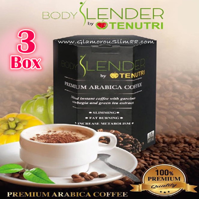qoo10 3 box combo body slender premium arabica coffee total