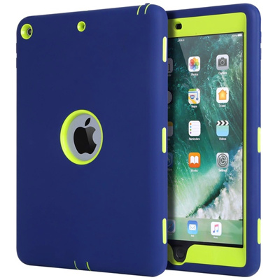 3 In1 Hybrid Hard PC Soft Silicone High Impact Defender Case Cover for IPad  Mini 1 2 3 4 IPad 2 3 4