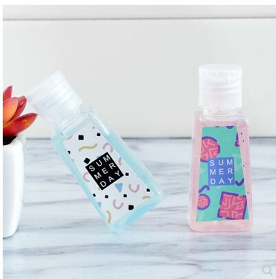 3 pcs Portable Travel Hand Sanitizer Mini Portable Hand Sanitizer Natural  Scented Fruity Outdoor