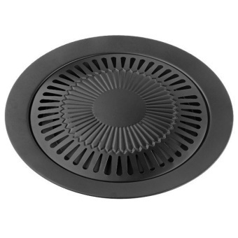 360DSC Smokeless Barbeque Grill for Household Gas Stove IndoorBlack