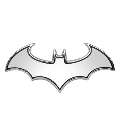 3d car stickers cool bat metal auto logo batman badge emblem tail decals auto decoration