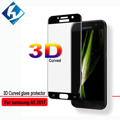 Qoo10 - 3D Curved Samsung A5 2017 A520F A520 Duos Full coverage 9H Screen Prot... : Mobile Accessori.