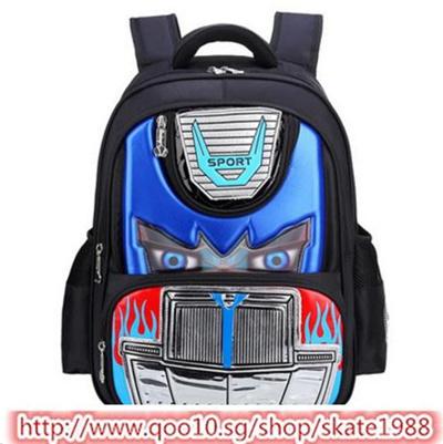 c951aaeccf Qoo10 - 3D School Bag Children Backpacks Kids SchoolBag Waterproof Cartoon  Bo...   Kids Fashion