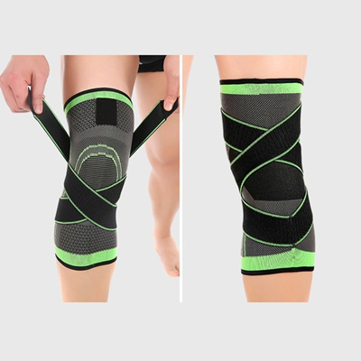 2d5b48dbed Qoo10 - 3D weaving pressurization knee brace hiking cycling knee Support  Prote... : Toys