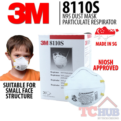 3m Qoo10 Household N95 - Mask amp; Bedding 8110s