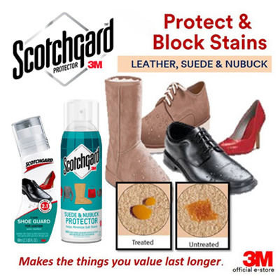 qoo10 3m scotchgard shoe guard for leather protector