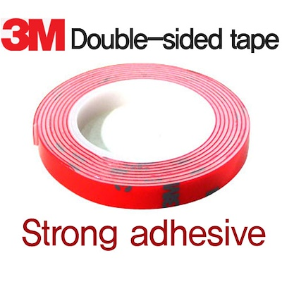 qoo10 3m double sided tape attach adhesive bonding 3m exterior i automotive. Black Bedroom Furniture Sets. Home Design Ideas