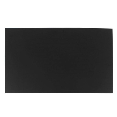 3mm Black Plastic Acrylic s Perspex Sheet A3 Size 297mmx420mm