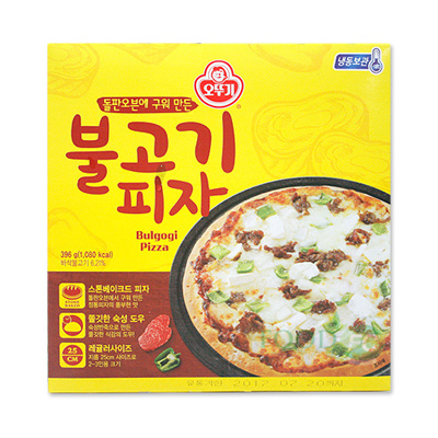 qoo10 3packs ottogi bulgogi pizza 396 g stone baked pizza