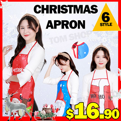 e5a34ea58641 Qoo10 - 3pcs/Christmas Dress Up Adult Apron Bar Restaurant KTV Service  Creativ... : Furniture / Deco