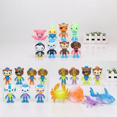 qoo10 3styles octonauts figure toys octonauts peso captain