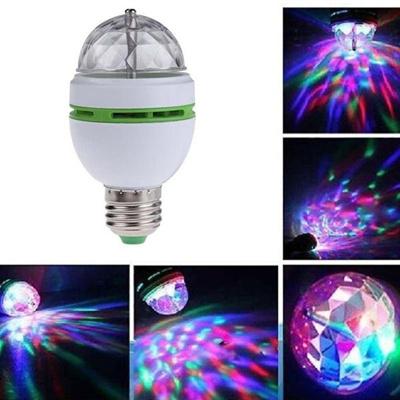 Qoo10 3w E27 B22 Rgb Crystal Ball