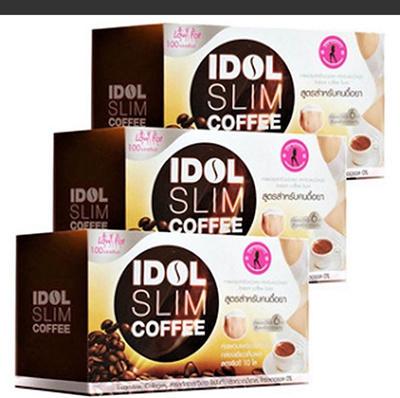 3x Idol Slim Coffee Powder Drink Instant Diet Weight Loss