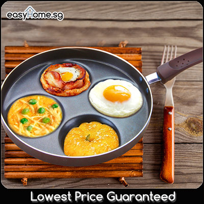 Qoo10 4 Egg Fry Pan Ceramic Frypan Stone Frying Pan
