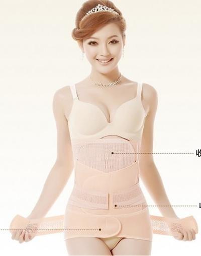 7d33589f510 Qoo10 - 4 pieces postpartum abdomen belt drawing maternity corset belt  materni...   Women s Clothing