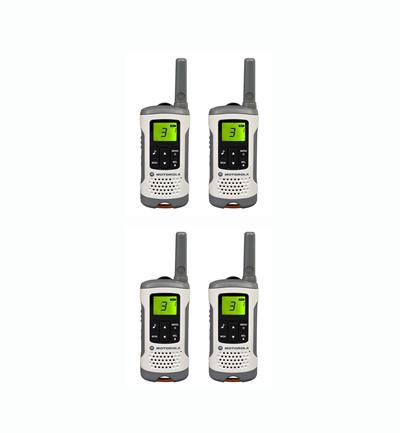 qoo10 4 x motorola t50 walkie talkie home electronics. Black Bedroom Furniture Sets. Home Design Ideas