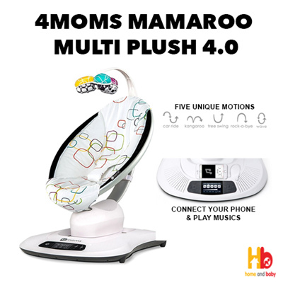 4moms4moms MamaRoo Multi Plush 4 0 Infant Seat
