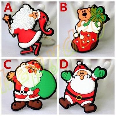 Qoo10 4pcs Funny Father Cartoon Christmas Tree Santa Claus Pvc