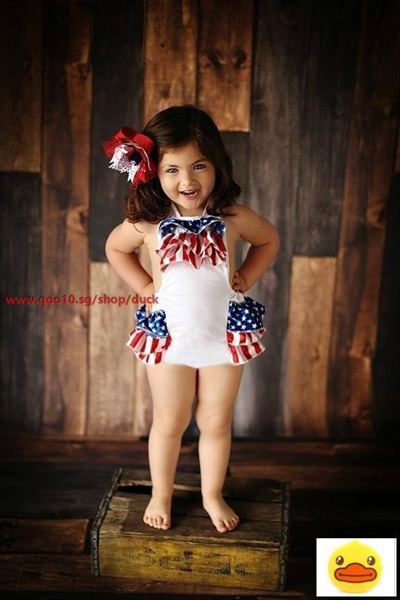454781a138f Qoo10 - 4th of July Baby Romper 1st 4th of July Outfit 4th of July Baby  Outfit...   Groceries