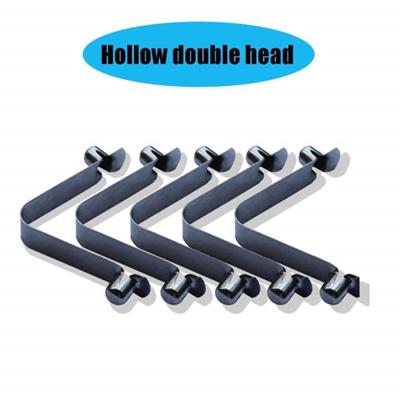 5 × Kayak Paddle Tent Pole Push Button Spring Snap Clip Locking Tube Pin