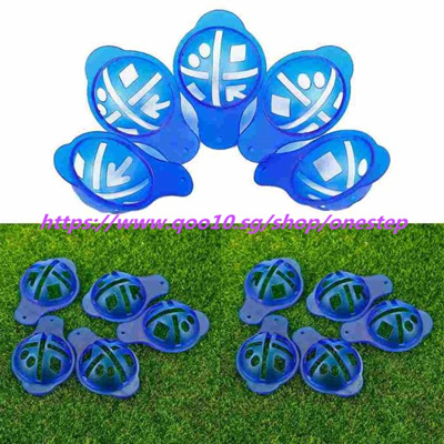 Golf Ball Marker Template | Qoo10 5 Pcs Golf Ball Marker Template For Training Golf Tool