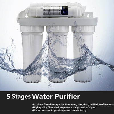 5-Stage 0.01 Micron Water Ultrafiltration Filter Purifier System Home Faucet Filtration Drinking Cle Water Ultrafiltration Filter
