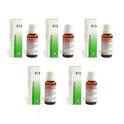 5 x Dr  Reckeweg - Homeopathic Medicine - R13 - Piles Drops