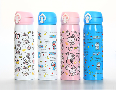 ★500ml 304 Stainless Steel ★ Thermos Flask Cups ★Insulated Tumbler Travel  Mugs ★Thermo Vacuum Cup ★