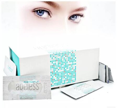 50pcs/JEUNESSE AGELESS Eye cream compact remove fine lines bags under the  eyes dark circles