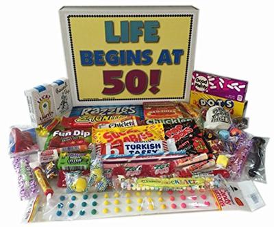 50th Birthday Gift Baskets - Gift Ideas
