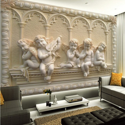 5d Papel Murals Parede 3d Wall Murals Wallpaper For Walls Jade Angel 5d Murals Home Decor 3d Wall Ph