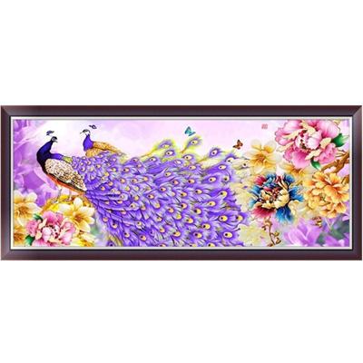DIY 5D Diamond Painting Flower Peacock Embroidery Cross Stitch Home Decor Craft