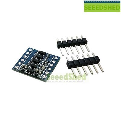 5PCS UART SPI Four Channel IIC I2C Logic Level Converter Bi-Directional  Module 5V to 3V For Arduino