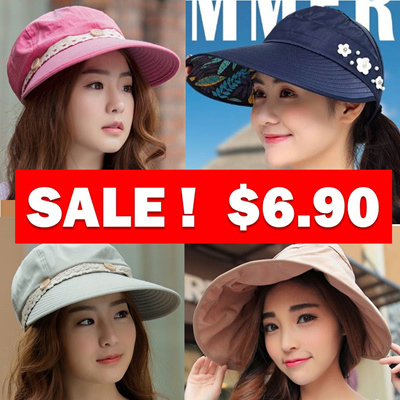 ed416d689ea Qoo10 - Sun Golf UV Hat Cap   Fashion Accessories