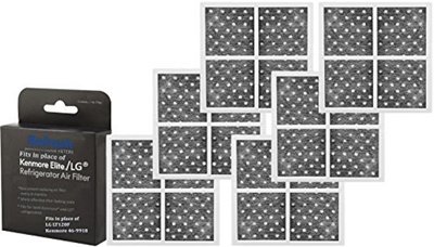 46154eab34452 (6-Pack) Kenmore 469918 / LG LT120F Air Filter Replacement R-9918 by  Refresh - ADQ73214402, ADQ73214