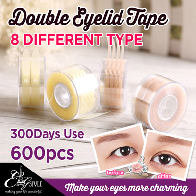 💎600pcs Double Eyelid Tape 🎀Non-Reflect / Invisible Double Eyelid Sticker
