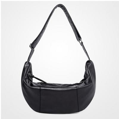 6038 Black Banana Bag Chest Pouch Sling