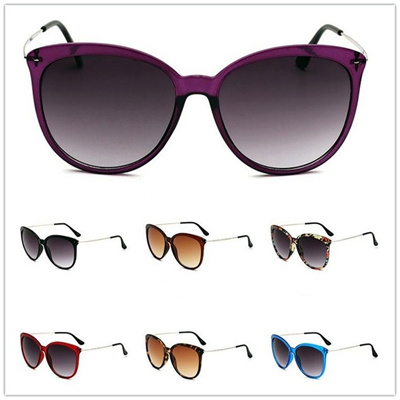 6e0c7a8eda35 7 colors sunglasses Wholesale Retro Round Big Box Mens Women Sunglasses  Uv400 Protecton Oversize Coo