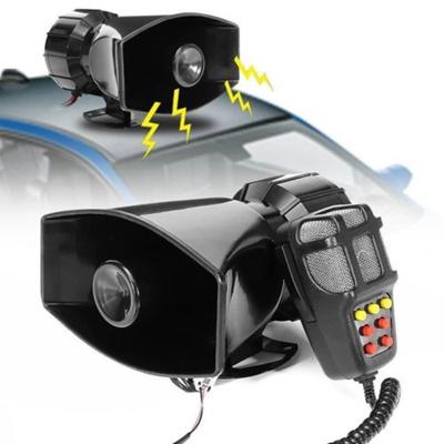 Loud Car Horn >> 7 Sound Durable Loud Car Horn Whistle Alarm Warning Sound Police Fire Siren